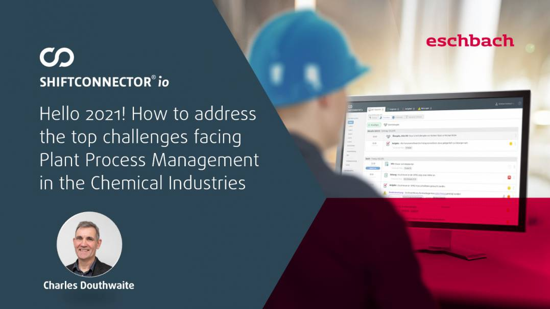 How to address the top challenges facing plant process management in the chemical industries